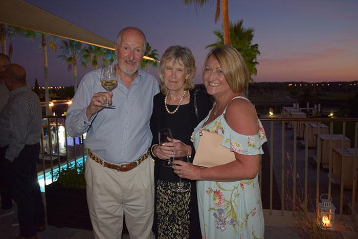 Peter, Karen & Jen in Portugal
