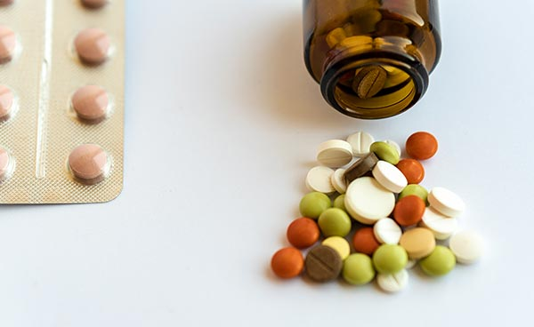 Vitamins and other pills